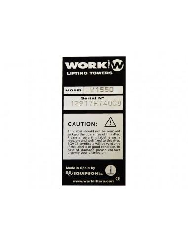 WORK Lifters LW 155 D