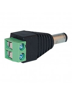 Conector DC 2.1mm Macho