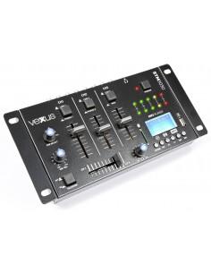 Vexus STM3030 Mezclador 3 canales USB/MP3/BT/REC