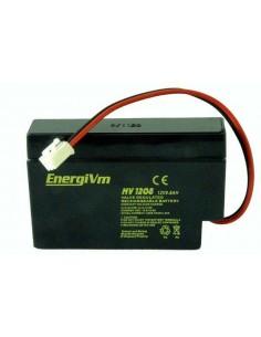 ENERGIVM MV1208 Bateria de plomo de 12V 0.8A