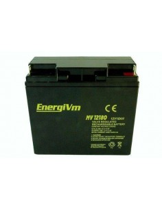 ENERGIVM MV12180 Bateria de plomo de 12V 18A