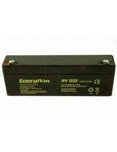 ENERGIVM MV1222 Bateria de plomo de 12V 2.2A