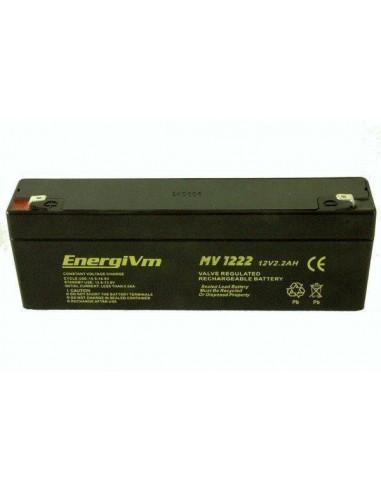 ENERGIVM MV1222 Bateria de plomo de...