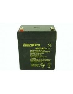 ENERGIVM MV1245 Bateria de plomo de 12V 4.5A