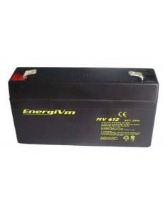 ENERGIVM MV612 Bateria de plomo de 6V 1.3A