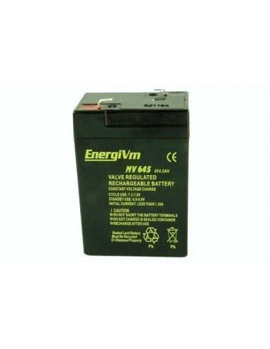 ENERGIVM MV645  Bateria de plomo de...