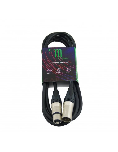 M BY METRO NT-323 CABLE XLR M-H 3M