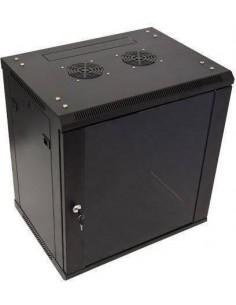 MICRO CONNECT ARMARIO MURAL DE 19 12HU FONDO 600MM NEGRO