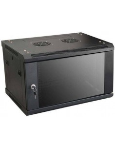 MICRO CONNECT ARMARIO MURAL DE 19 6HU FONDO 450MM NEGRO