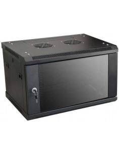 MICRO CONNECT ARMARIO MURAL DE 19 6HU FONDO 600MM NEGRO