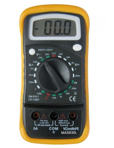 Multímetro digital MAS830L