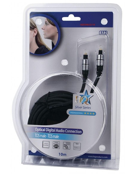 Cable optico Toslink de 10m