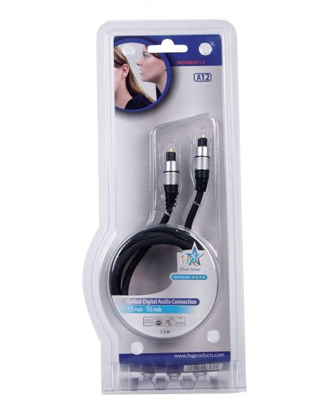 Cable optico Toslink de 1.5m