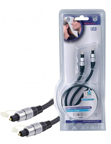 Cable optico Toslink de 0.75m