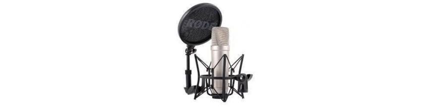 Micrófonos Studio y USB