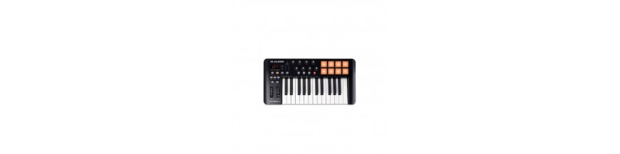 Controladores MIDI y teclados
