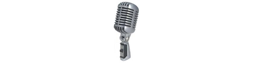 Micrófonos Voz y Condensador